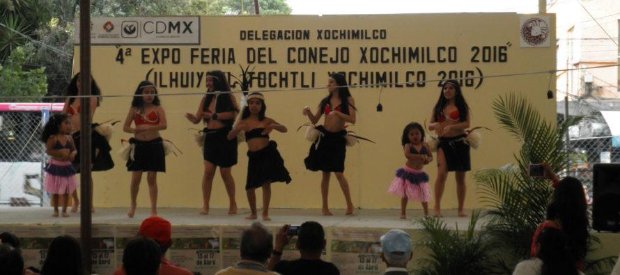 Se inauguró la 4ta Expo Feria del Conejo, en Xochimilco