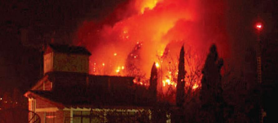 Controlan el incendio que afectó a la zona de Tepoztlán