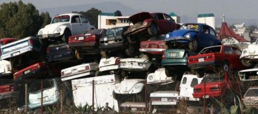 Gobierno de la CDMX terminará con los depósitos de autos abandonados