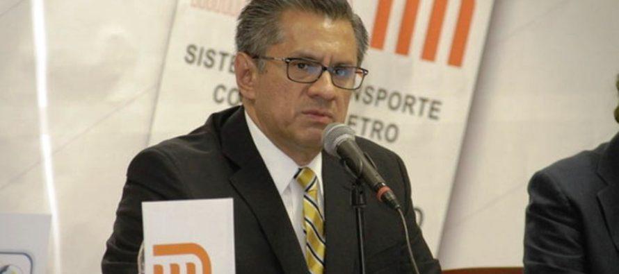 El pleno de la ALDF pidió auditar la gestión de Joel Ortega como director del Metro