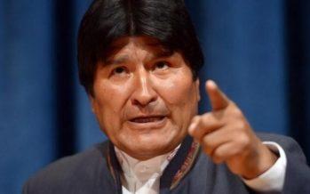 Denuncia Evo Morales operaciones militares de EU en Antofagasta, Chile