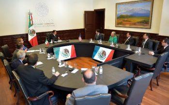 Peña Nieto dialoga con legisladores demócratas de California
