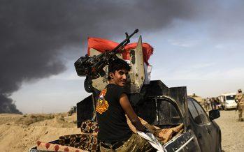 Iraquíes ponen pausa a la recuperación de Mosul