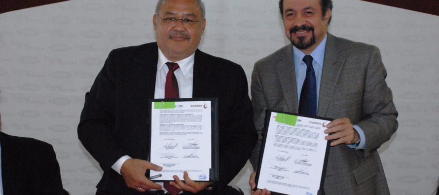 Cámara de la Construcción y Delegación Xochimilco firman convenio de colaboración