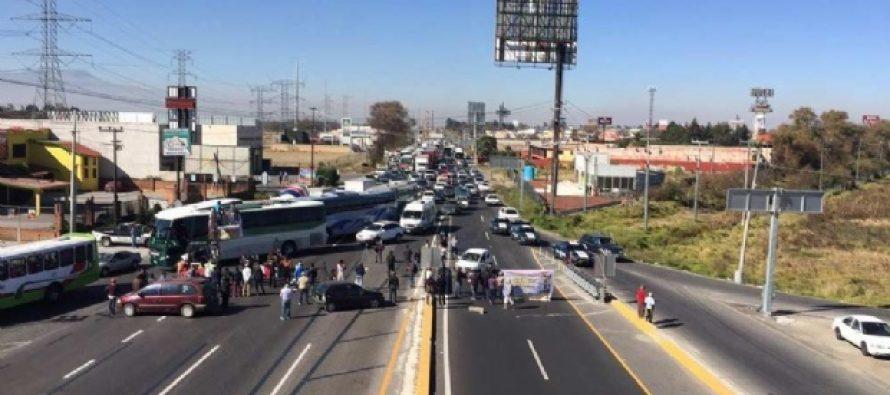 Siguen las protestas en la CDMX por el gasolinazo; ahora bloquean la México-Toluca