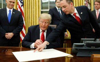 Salida del TPP y renegociación del TLC, órdenes firmadas por Trump