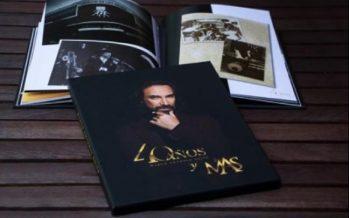 'El Buki' Marco Antonio Solís presentó su libro '40 años y más'