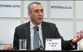 Consejero del INE, Benito Nacif, impugnó la reducción del 10% de su salario