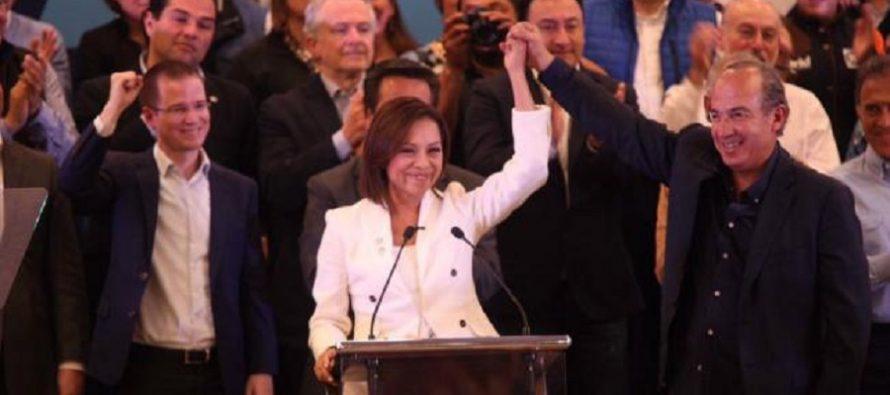 Josefina Vázquez, candidata oficial del PAN a gobernar el Edomex