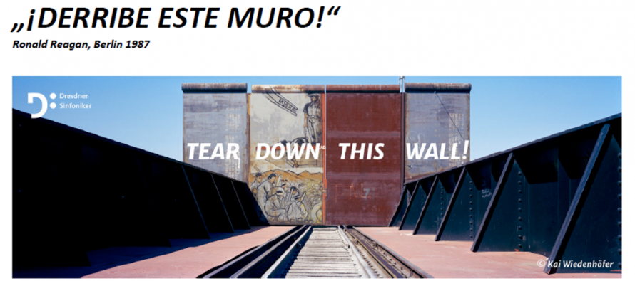 """Invitación a la conferencia de prensa: """"¡DERRIBE ESTE MURO!"""""""