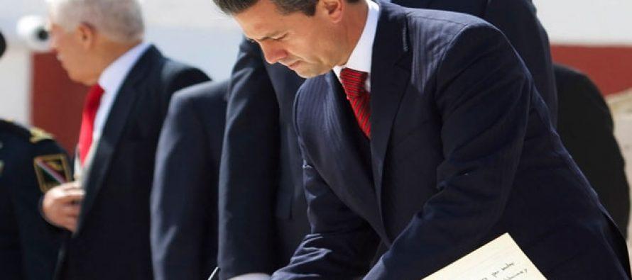 Propone EPN a 18 magistrados en combate a la corrupción