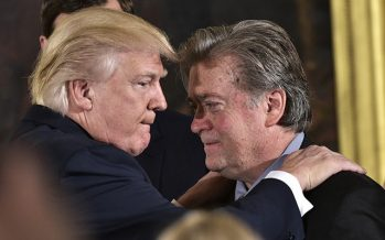 """Trump sobre Bannon: """"No hablo con él """""""