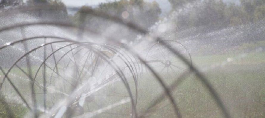 Supera la presente administración 440 mil hectáreas de riego tecnificado en cuatro años
