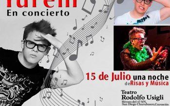 Yurem se presentará el próximo 15 de julio de 2017 en el Teatro Rodolfo Usigli