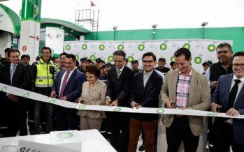 En Tlalnepantla, la cuarta estación de servicio de British Petroleum