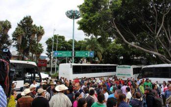 Marchará Frente Amplio Morelense a CDMX, por inseguridad