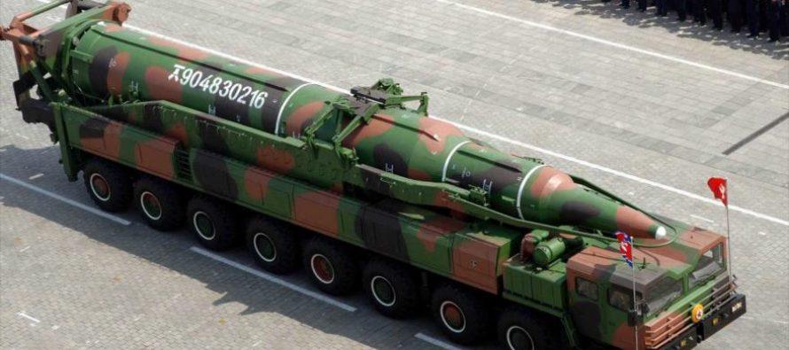 Corea del Norte podría realizar pronto otra pureba de misil balístico