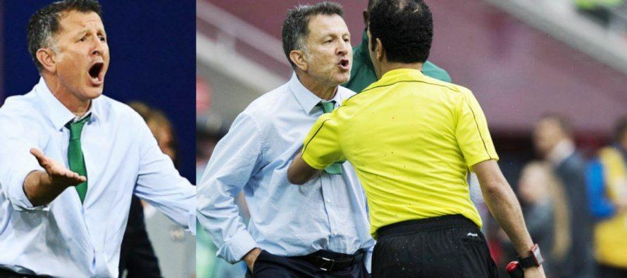 FIFA aplica seis partidos de suspensión a Osorio