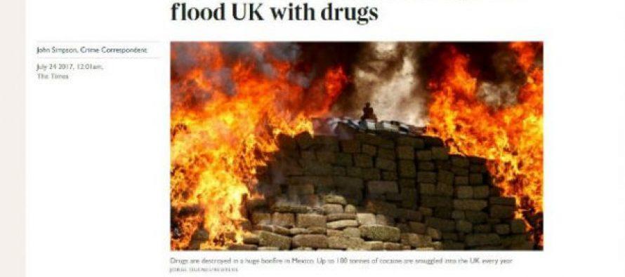Cártel de Sinaloa junto a rumanos, mete droga a Reino Unido