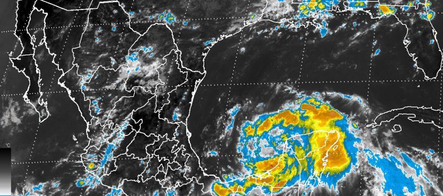 Franklin podría entrar a Veracruz como huracán categoría 1