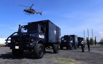 Despliegan en Tláhuac a 1,200 elementos policíacos