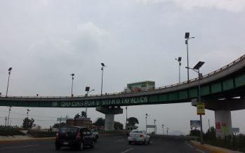 Cerrada autopista México-Puebla por accidente vial