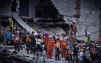 Termina rescate de cuerpos en la ciudad; inicia retiro de escombros