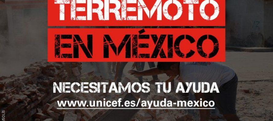 Barcelona y Unicef donan 200 mil euros a niños afectados por sismo