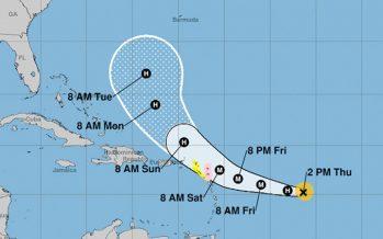 Huracán José sube a categoría 2; va paralelo a Irma