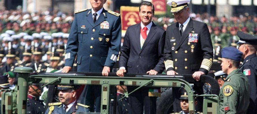 """Concluye """"sin novedad"""" el Desfile Militar"""