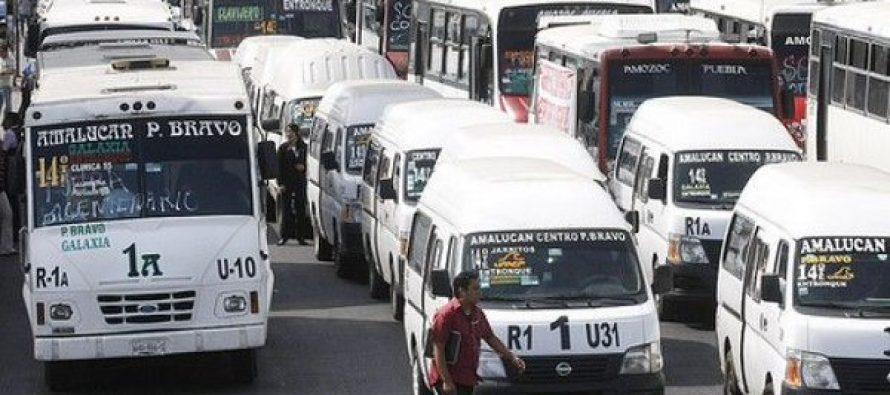 Aumentó dos pesos la tarifa de transporte en el Edomex