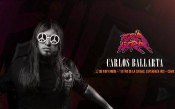 Carlos Ballarta: Furia Ñera,llegará al Teatro de la Ciudad Esperanza Iris en función única