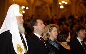 Karekin II, líder de la Iglesia Apostólica Armenia visita México