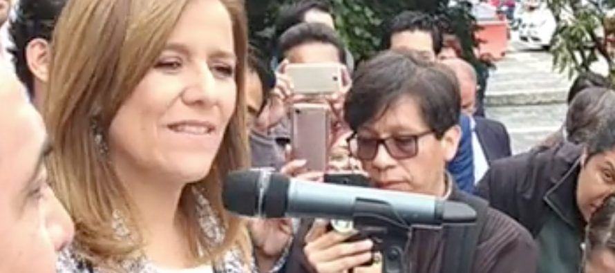Margarita Zavala solicita el registro como independiente
