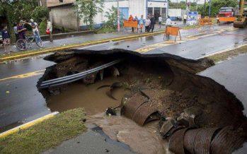 Deja Nate, en Centroamérica, al menos 28 muertos