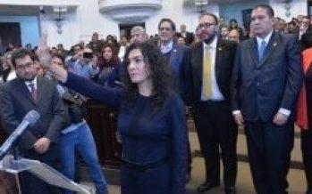 Mónica López Moncada nueva jefa delegacional en V. Carranza