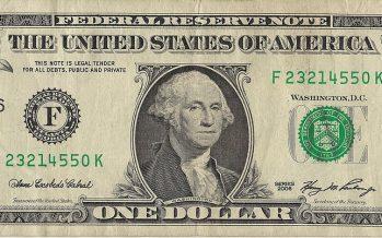 Dólar desciende y se vende hasta en 19.41 pesos en bancos