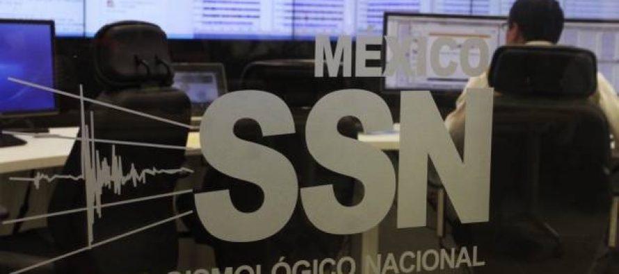Sismológico precisa en 5.6 magnitud de temblor en Jalisco