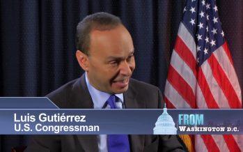 Luis Gutiérrez explora lanzarse para presidente
