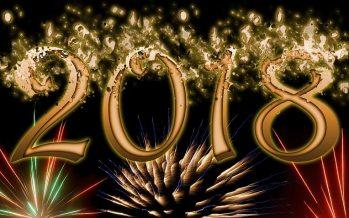 Adiós, año viejo 2017; bienvenido año nuevo, 2018