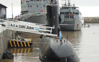 """Detectan una """"señal importante"""" en la zona de búsqueda del submarino ARA San Juan"""