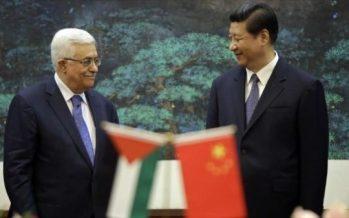 Palestina pide a China suplir a EEUU en proceso de paz