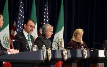 Actualizan México y EEUU estrategias anticrimen