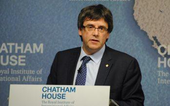 Alemania considera extradición de Carles Puigdemont