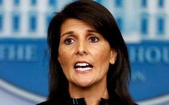 Embajadora de EUA amenaza a ONU por Jerusalén