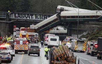 Hubo exceso de velocidad en curva donde descarriló tren de Amtrak