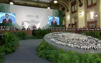 Peña Nieto encabeza Consejo Nacional de Seguridad Pública
