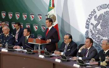Peña Nieto promulgará esta tarde Ley de Seguridad Interior