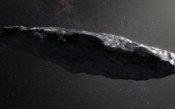 ¿Podría ser el asteroide Oumuamua una nave alienígena?