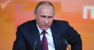 Fuerzas internas de EEUU quieren enfrentamiento con Rusia: Putin